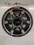 XD Spy 2 20x10 Gloss Black/Machined 8x165 -18 FREE SHIPPING